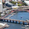 Darling Harbour aerial, afternoon