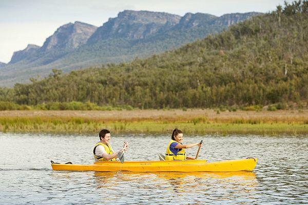Canoeing - Lake Bellfield