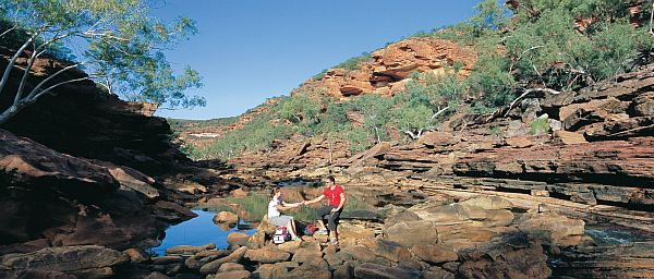 Couple in Kalbarri National Park