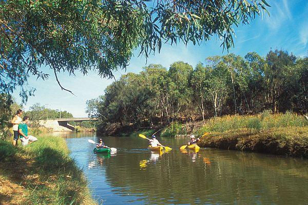 Irwin River, Dongara